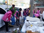 청주 봉명1동 아이도, 새봄맞이 쓰레기 수거·환경정비 실시