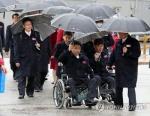 北패럴림픽 선수·대표단 귀환…평창계기 北인원 방남 마무리
