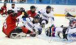 -패럴림픽- 한국 썰매하키, 캐나다에 0-7 완패…3-4위전으로