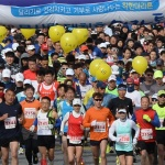 5000여 마라토너 '봄빛 질주'…2018 대청호마라톤대회 성료