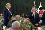 """문 대통령 """"주한미군은 한미동맹의 문제…평화협정 체결과 무관"""""""