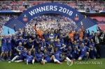 첼시, 맨유 꺾고 잉글랜드 FA컵 우승…'무관 시즌' 모면