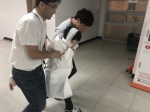 단양소백산중학교 실험실 화재폭발 사고 대피 훈련