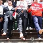 '허태정 대전시장 후보 병역의혹 검증' 박성효 캠프서 직접 나선다