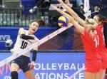 한국 여자배구, 세계 5위 러시아에 40년 만에 3-0 완승(종합)