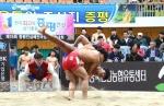 전국 소년장사들 증평에!…초·중등 237명 뜨거운 경쟁