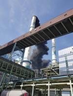 태안화력2호기 탈황설비서 화재… 잔불 정리중