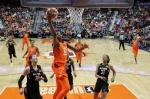 WNBA 박지수, 리바운드 11개…데뷔 후 최다