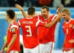 -월드컵- 러시아, 이집트도 완파…32년 만에 16강행 '유력'