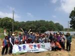청주 모충동 통장협의회, 감자캐기 봉사활동