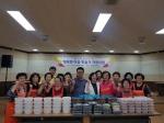 청주 성안동 자원봉사대 '사랑의 밑반찬' 전달