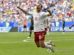 -월드컵- 덴마크, 호주와 '장군멍군'…1-1 무승부