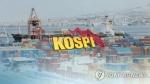 코스피, 무역전쟁 우려에 연저점…장중 2,320선 '턱걸이'(종합)