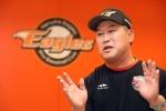 전반기 2위 이끈 한화이글스 레전드 장종훈·송진우를 만나다