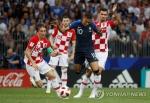 프랑스-크로아티아, 결승전 52년 만에 '6골 공방전'
