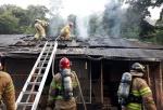 청주 주택서 방화 의심 화재…용의자 숨져
