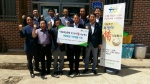 충남농협, 복맞이 삼계탕·가전제품 나눔행사 개최