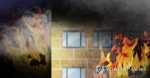 충남 아산 아파트 화재…주민 150명 대피