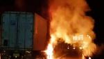 서천∼공주고속도로 교통사고…4명 부상·차량 2대 불타(종합)