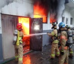 폭염 때문에?…금산 공장서 자연발화 추정 화재