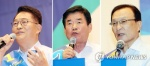 민주 당권주자들, 강원·충북서 표심 공략…비방전 자제(종합)