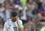 아르헨티나 축구영웅 메시, 대표팀 활동 일시 중단