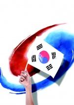증평, 광복절 맞아 '태극기 물결'