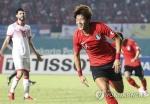 -아시안게임- '황의조 해트트릭' 한국, 바레인에 6-0 대승(종합)