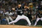 오승환, MLB 진출 후 첫 연타석 홈런 맞고 3실점