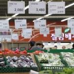 대전지역 밥상물가 '숨고르기'…채소·육류 등 하락세 전환