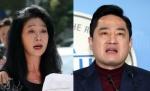 김부선, 변호인 강용석과 오후 경찰에 동반 출석