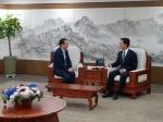 김원석 농협경제지주 대표, 양승조 충남지사와 간담회