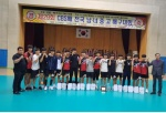충북 옥천고 배구팀 첫 우승 도전