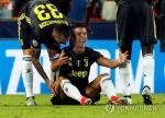 호날두 퇴장 유벤투스, 퍄니치 멀티골로 발렌시아에 2-0 승리