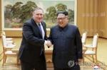 """폼페이오 """"머지않아 평양 간다…북핵 위협 여전하나 줄어"""""""