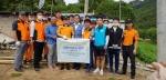 대전소방본부·포스코건설, 화재예방 주거환경개선 봉사활동