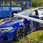 대전서 BMW 차량 가로수 들이받아