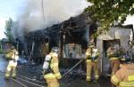충남 당진 식당 화재…부부싸움 뒤 방화 추정