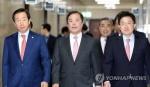 보수대통합 불 지피는 한국당…바른미래는 선 긋기