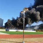 대전 관저다목적체육관 공사현장서 큰 불, 중상1명·경상10명