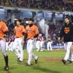 한화 이글스, 11년만의 가을 야구 첫 경기 패배