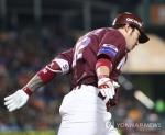 박병호, 3년만의 PS 홈런포…넥센, 준PO서 한화에 기선제압(종합)