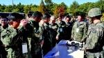 육군 37사단 충북 의원들 초청 안보 체험 행사