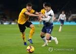 손흥민, 울버햄프턴전 리그 첫 도움…2경기 연속 공격 포인트