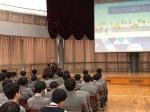 신효섭 제천경찰서장 대제중 청소년 범죄 예방 특강