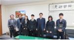 단양 사회복지협의회 단양중 학생들에 장학금 기탁