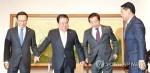 文의장·여야 원내대표 오늘 회동…'예산·법안' 논의