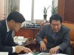 """이춘희 시장, 국회 방문 지원 요청 """"세종의사당 건립 협조를"""""""