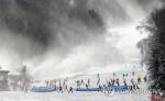 성큼 다가온 겨울…눈 내린 전국 스키장·유명산·유원지 북적