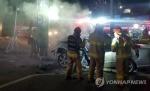 천안서 승용차가 철제 구조물 들이받아…운전자 사망
